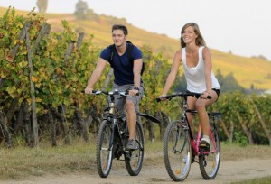 In bicicletta per dimagrire con buon umore